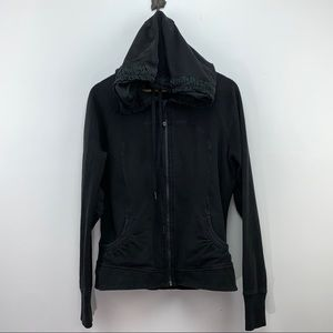 "LULULEMON Rare ""Movement Jacket"" with ruffled hood"